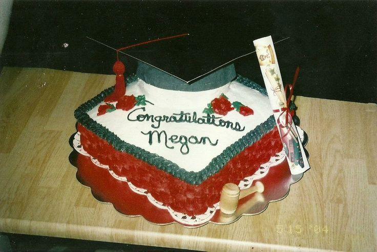 Graduation Cake - for Texas Tech Law School