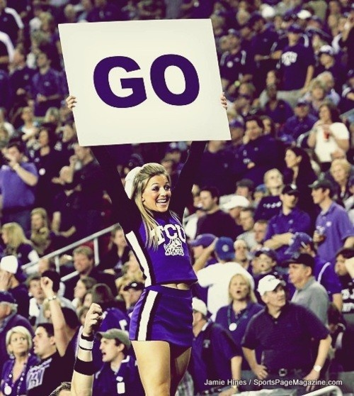 College Cheer TCU