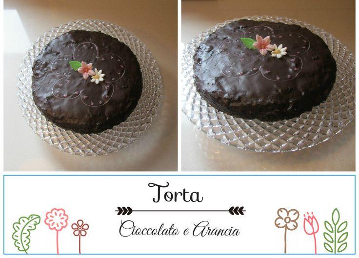 Torta cioccolata e arancia di mamma