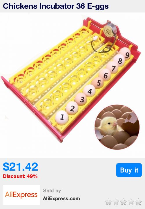 Chickens Incubator 36 E-ggs Incubator Turn Tray Ducks Other Poultry Automatically Turn E-ggs Poultry Incubation Equipment * Pub Date: 04:28 Apr 13 2017