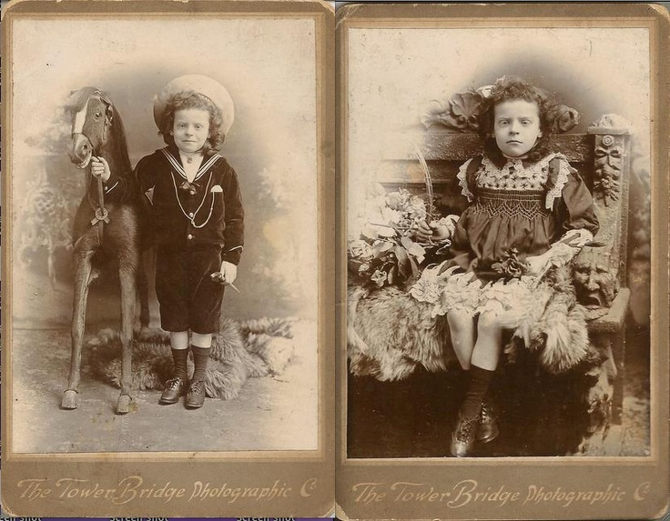Interesting family story of momento mori. The photo on the left is the bloggers maternal great-grandfather, George. George had a twin sister that died in infancy. No photo was taken of her so to remedy that, they dressed George as a girl (which he looks pretty unhappy about) so they could ostensibly have a photo of the deceased daughter too.: Posts Mortem Photos, Death Photo, Photos Victoriennes