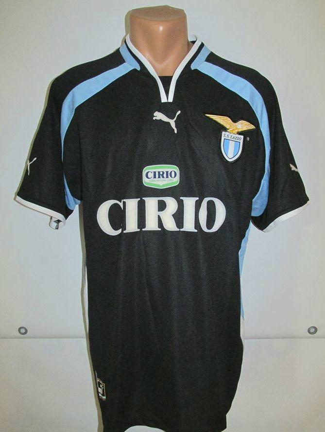SS Lazio 1999 2000 away football shirt by Puma Italy Italia Cirio calcio  jersey SerieA soccer 2000s  Lazio  Laziale  SSL  Cirio  puma  2000s  jersey  ... ec6f63099ca1b