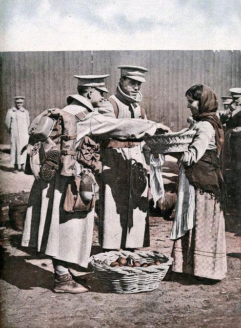 The Great War. Portuguese Soldiers. 1917. Photo: Joshua Benoliel