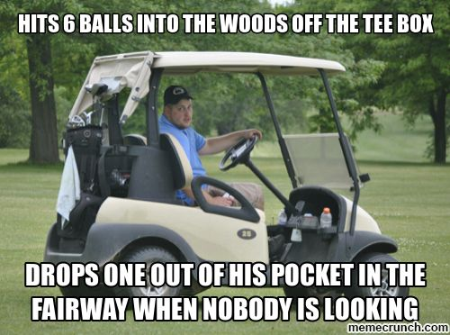 Who Do You Think You Re Fooling Dude Golf Funny Meme