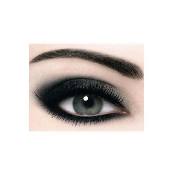 Smokey black max factor eye shadow ❤ liked on Polyvore featuring beauty products, makeup, eye makeup, eyeshadow, eyes, beauty, max factor, black eye shadow, black eye makeup and black eyeshadow