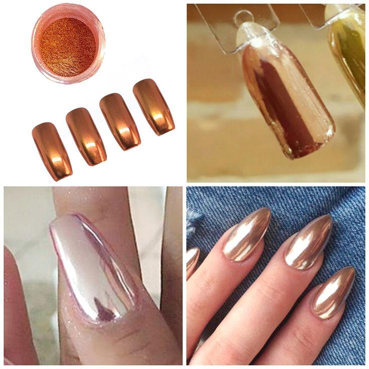 Шинни zilver vlokken блеск розовое золото зеркало chrome порошок эффект ногтей пигмент серебро focallure m03311 купить на AliExpress