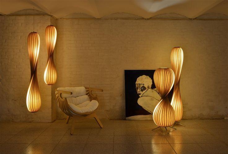 117 best design leuchten aus holz images on pinterest. Black Bedroom Furniture Sets. Home Design Ideas