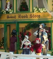 Woodward's department store Christmas Display