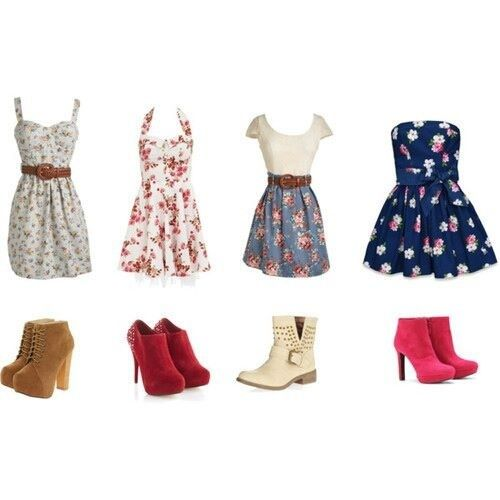 Cute Outfits for Teens | Lovely floral outfits | Cute teen outfits!:)