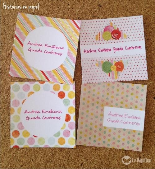 Tarjetas de presentación para niñas!