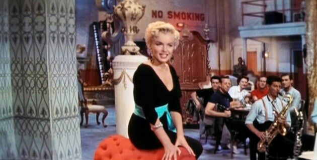"""Marilyn Monroe in """"There's No Business Like Show Business."""""""