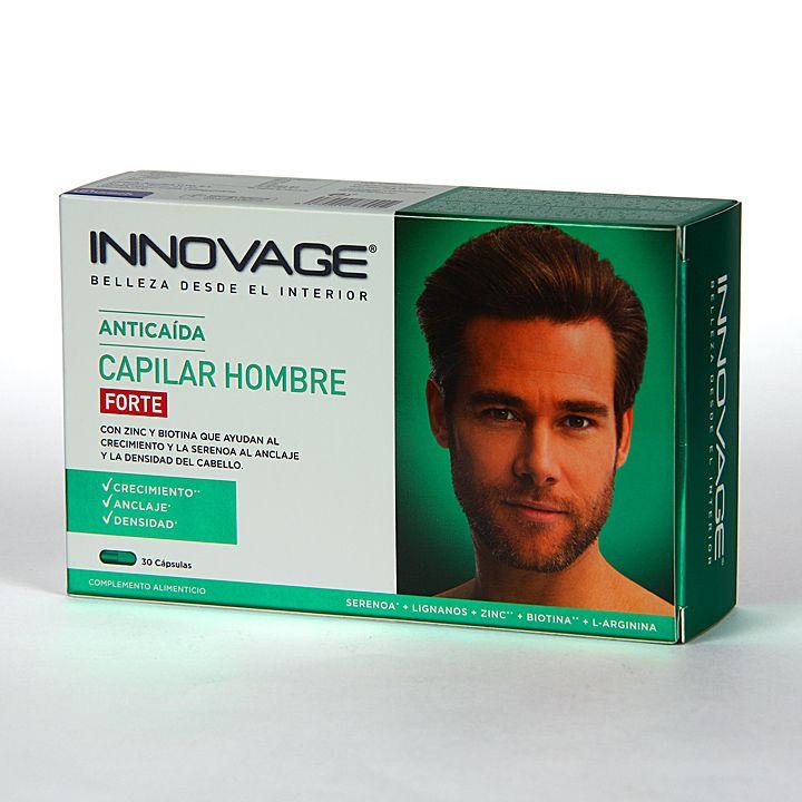 Innovage Anticaída Capilar Hombre 30 cápsulas - Farmacia Jiménez