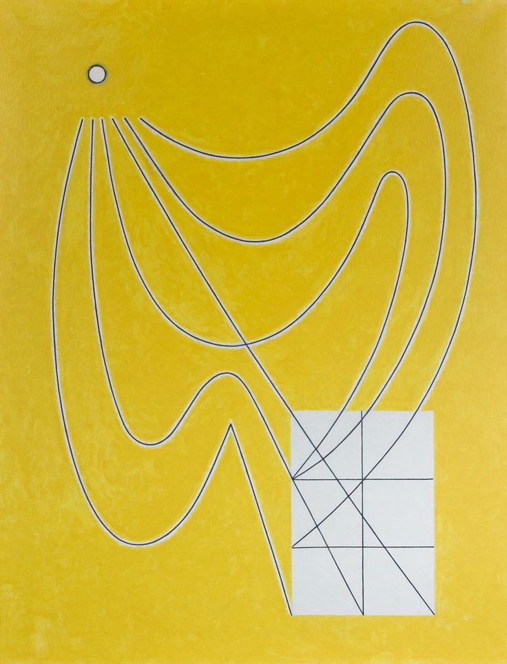 Juhana Blomstedt: Leijan suunnittelija, öljy, 130x100 cm - Hagelstam K136