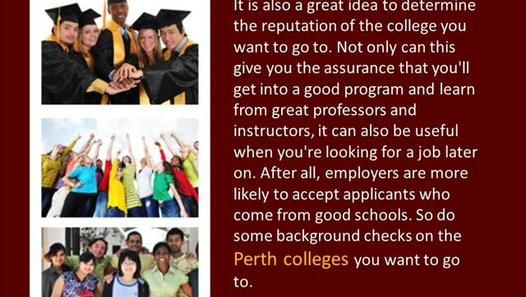 Qualities Of Colleges In Perth that You Want To Choose