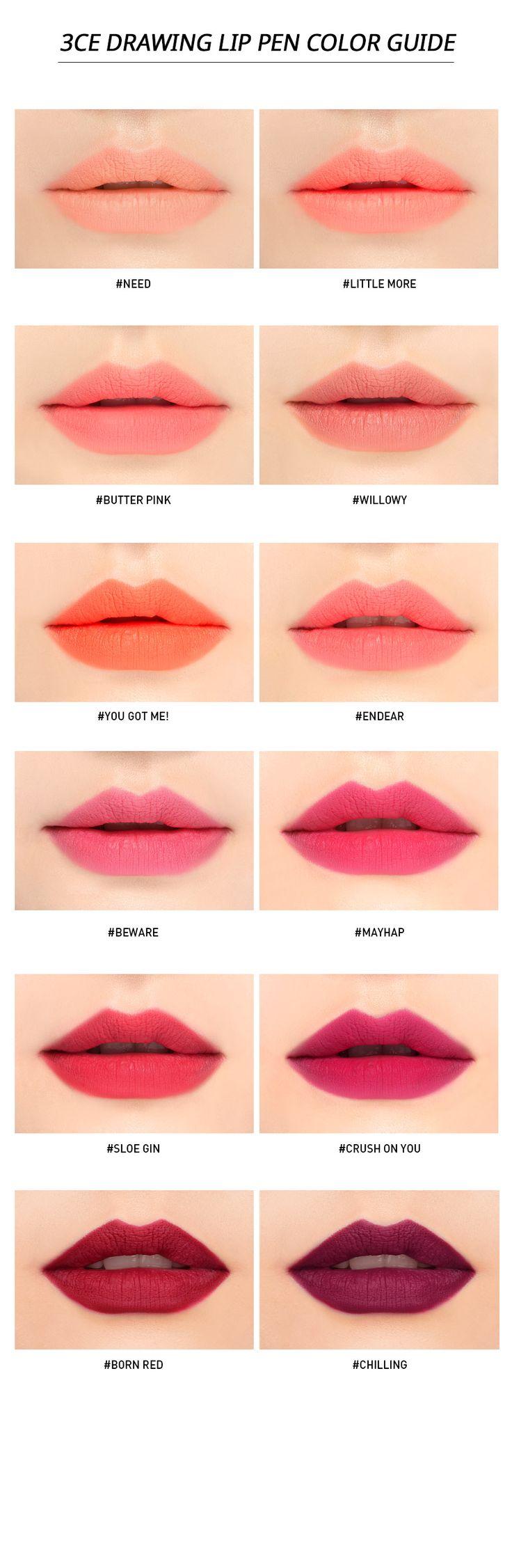 Tonymoly: cherry lip balms; Peripera: cushion blush; 3CE: ombré blusher, moving mascara; Étude house: tint my brows gel;