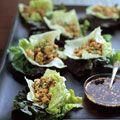 Chicken Lettuce Cups Recipe - Asian Lettuce Wraps - House Beautiful