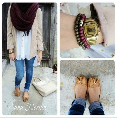 Doing hijabi fashion right. #hijab
