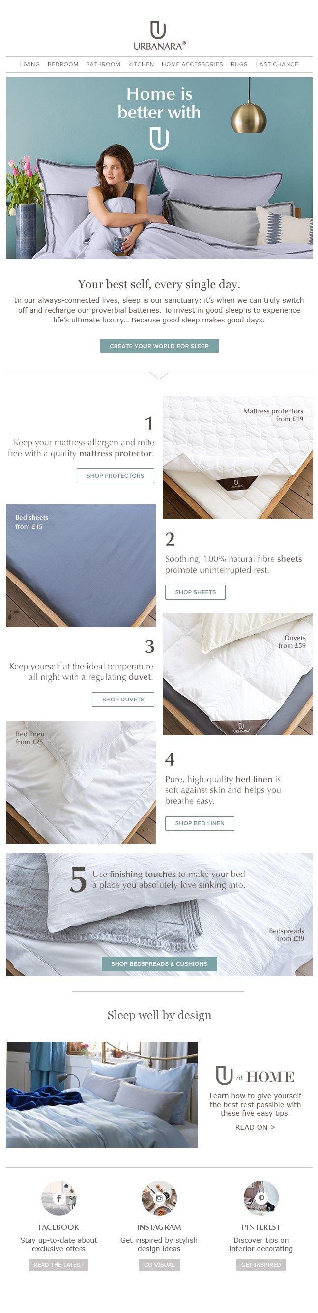 45 best urbanara newsletter design inspiration images. Black Bedroom Furniture Sets. Home Design Ideas