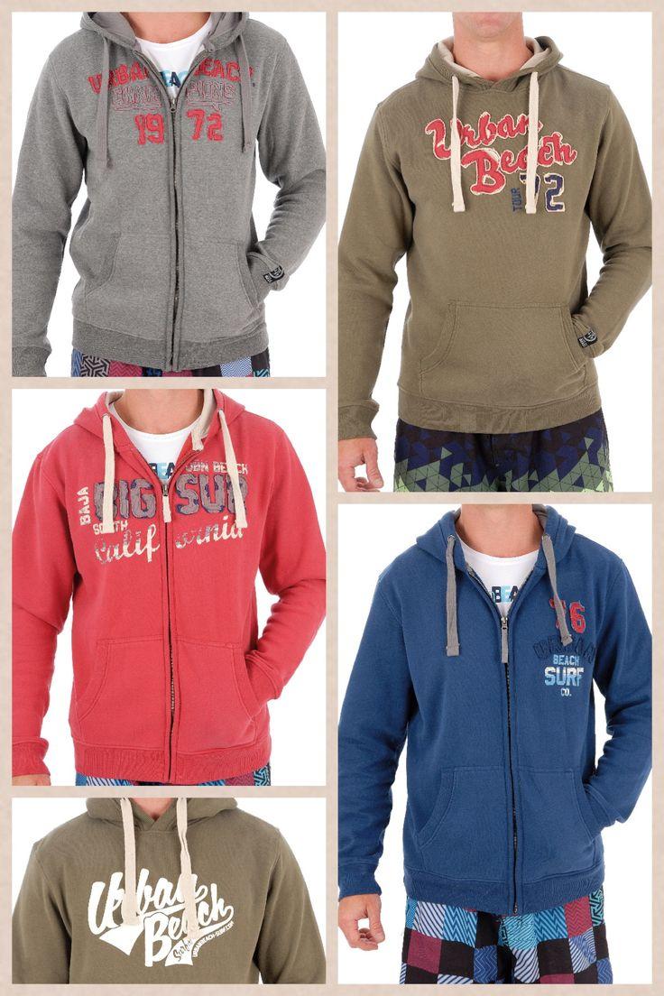 Urban beach men's hoodies. £29.99 www.nautirachael.com