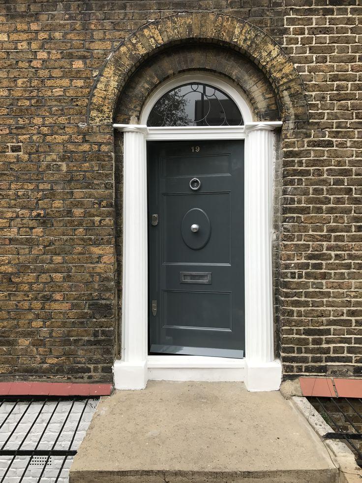 Period front door installed in north London