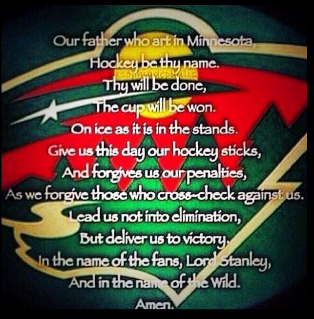 Our Father - Minnesota Wild Version                                                                                                                                                                                 More