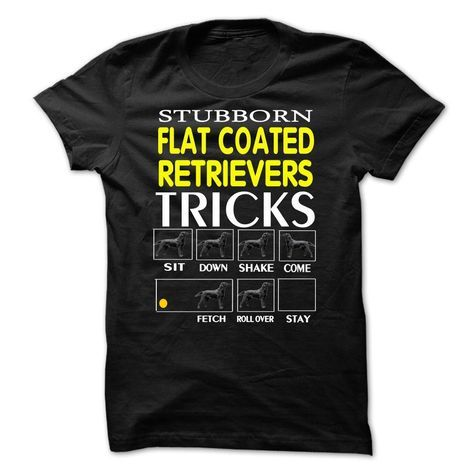 Flat Coated Retriever T-Shirts, Hoodies. Get It Now ==> https://www.sunfrog.com/Pets/Flat-Coated-Retriever-63344092-Guys.html?id=41382