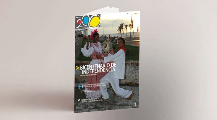 Diseño portada revista.