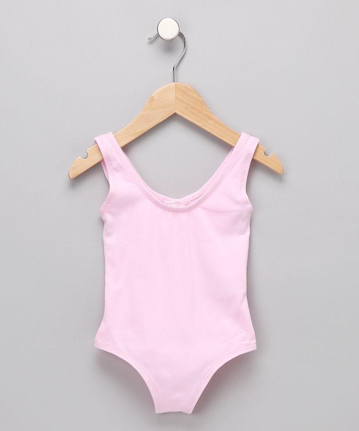 Pink Leotard - Toddler & Girls