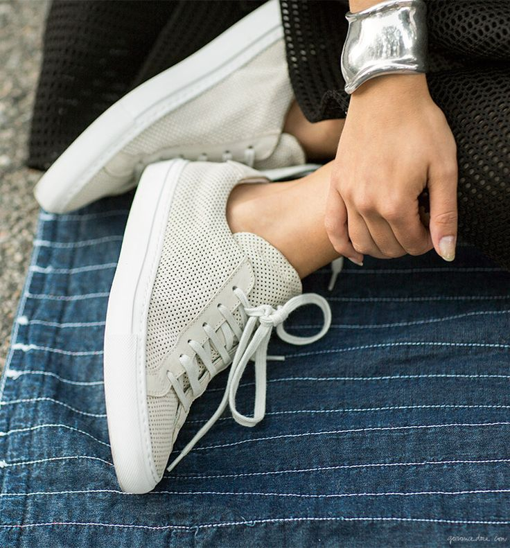Common Projects Original Achilles Perforated Sneakers / Garance Doré