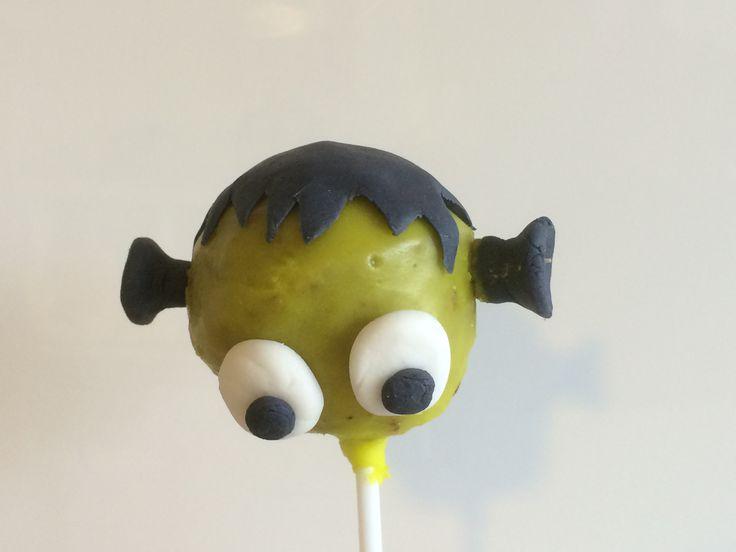 Scary popcake.