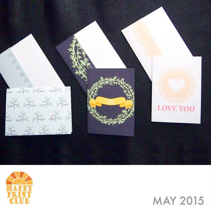 HappyPrintClub.com May 2015 Release