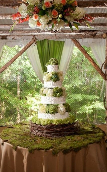Top 8 Moss Wedding Ideas
