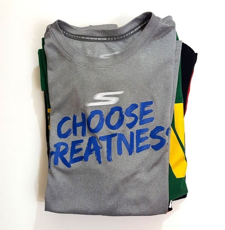 Skechers Men's Athletic Performance Go Like Never Before Sport T Shirt Gray XL #Skechers #ShirtsTops