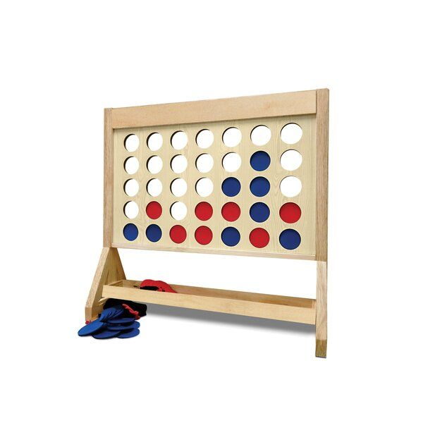 You Ll Love The Plain Fast Four Giant Game At Wayfair Great Deals On All Furniture Products With Free Shipping On Most Stuff Ev Giant Games Yard Games Games