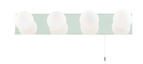 Koupelnové svítidlo SL 6337-4, nástěnné svítidlo. #svitidlo #koupelna #osvetleni #light #wall #bathroom #mirror #searchlight