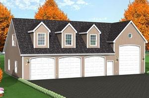 gallery for gt 5 car garage plans