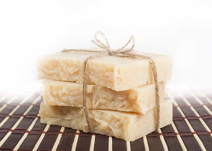Our coconut soap that we make locally and ship out across Canada