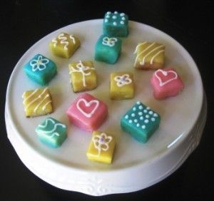 Easy Petit Fours ♥recipe♥. | food | Pinterest