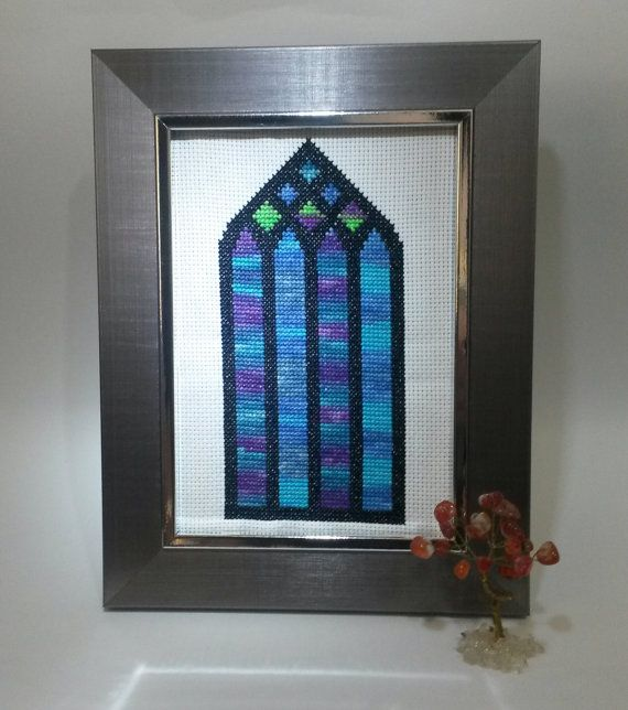 Hey, I found this really awesome Etsy listing at https://www.etsy.com/listing/231382325/stained-glass-northern-lights
