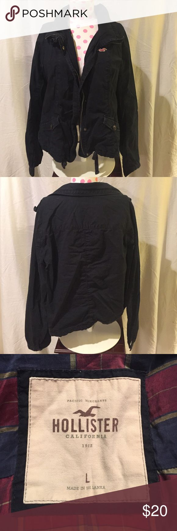 Hollister Jacket. Hollister Jacket. Excellent Worn Condition. Looks great layered with a hoodie. Hollister Jackets & Coats Utility Jackets