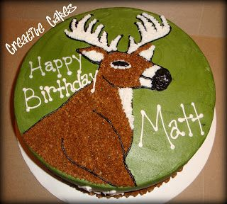 Creative cakes: Deer Hunting Cake