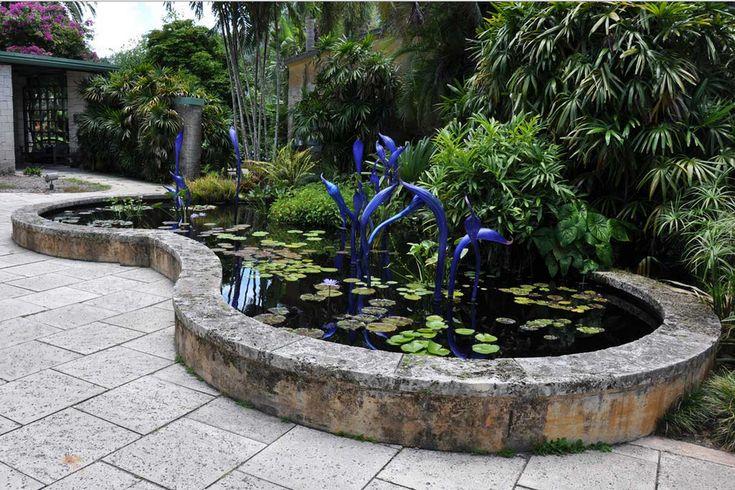 desain taman air terjun minimalis