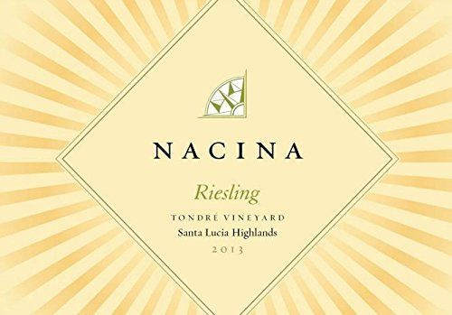 2013 Nacina Santa Lucia Highlands Tondre Vineyard Riesling 750ml *** You can get more details by clicking on the image.