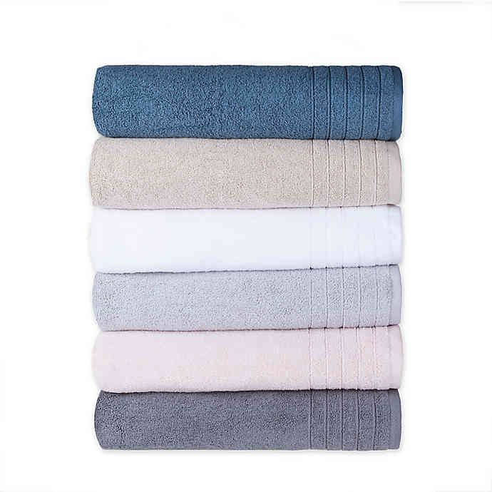 Brookstone Super Stretch Bath Towel Collection Bed Bath