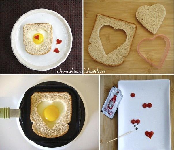 Ontbijt met liefde gemaakt