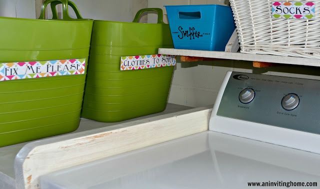 Laundry For A Family Of Seven In Less Than One Hour Per Week!