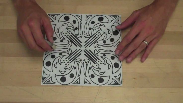 Good video on making a Radial Balance Square