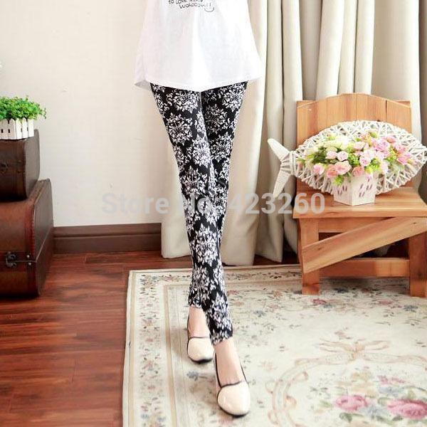 Mode Frauen Legging Footless Cotton pants Hose Damen Stretch Pencil Pant TrouserFree&Drop Shipping