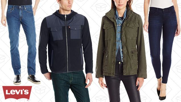 Grab Some Discounted Denim During Amazons One-Day Levis Sale