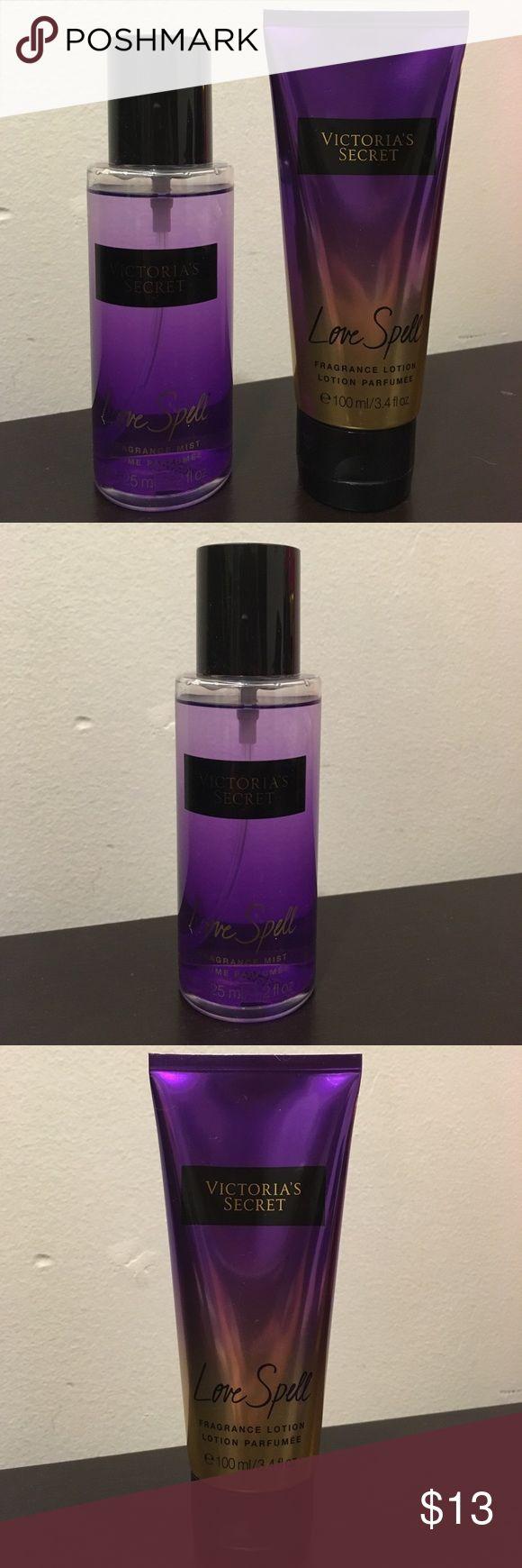 Victoria's Secret body spray set - love spell Love spell body spray set by Victoria's Secret Victoria's Secret Other